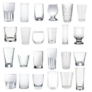 Vasos vidrio